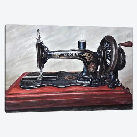 The Machine III Canvas Print #BLO62} by J.Bello Studio Canvas Artwork