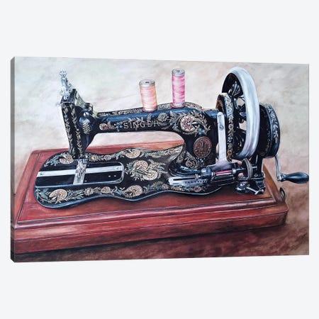 The Machine V Canvas Print #BLO66} by J.Bello Studio Canvas Art Print