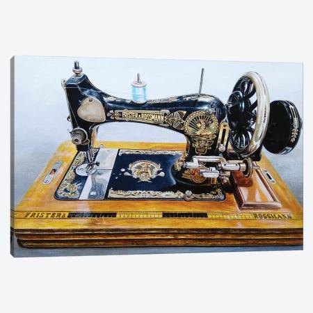 The Machine XII Canvas Print #BLO72} by J.Bello Studio Art Print