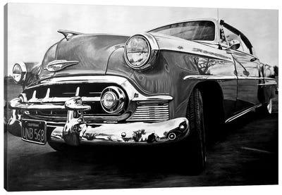 American Dream Car I BW Canvas Art Print