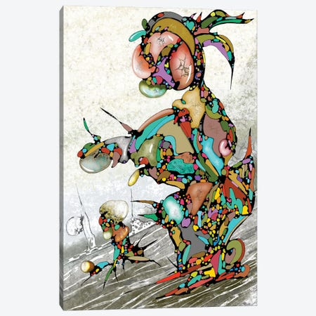 Always Going Down Canvas Print #BLO91} by J.Bello Studio Canvas Art Print