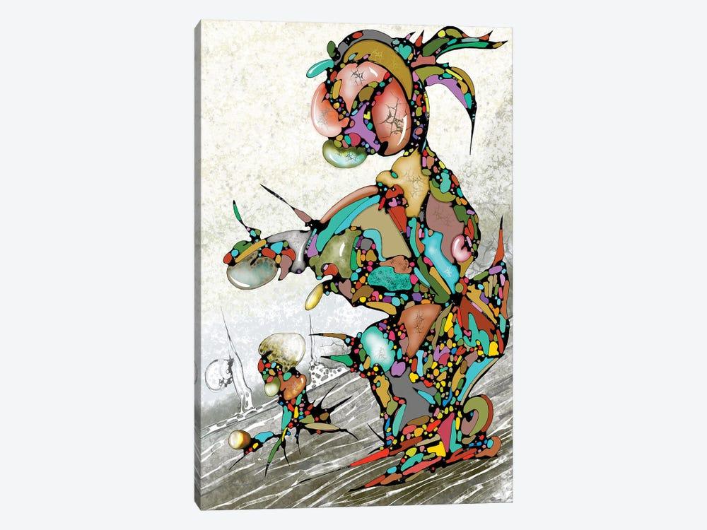 Always Going Down by J.Bello Studio 1-piece Canvas Art Print
