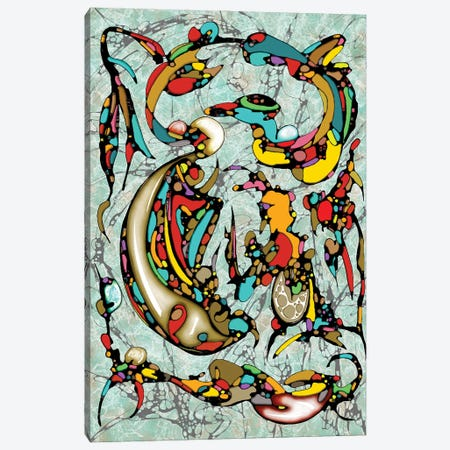 Color Rhythm Canvas Print #BLO94} by J.Bello Studio Canvas Wall Art