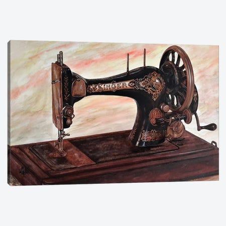 The Machine II Canvas Print #BLO98} by J.Bello Studio Art Print