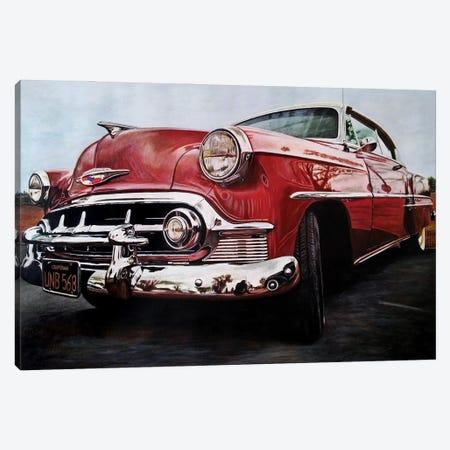 American Dream Car I Canvas Print #BLO9} by J.Bello Studio Canvas Art Print