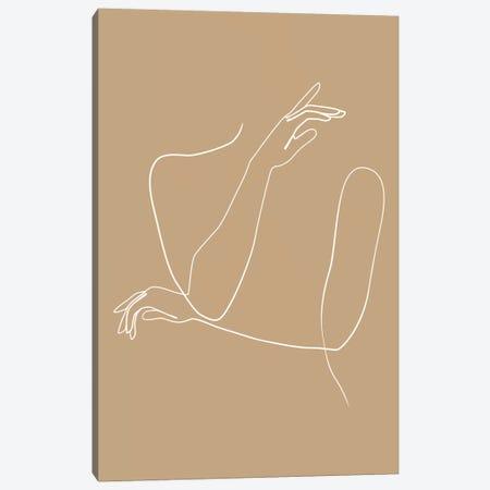 Femme №41 Rectangle Canvas Print #BLP106} by Blek Prints Canvas Art
