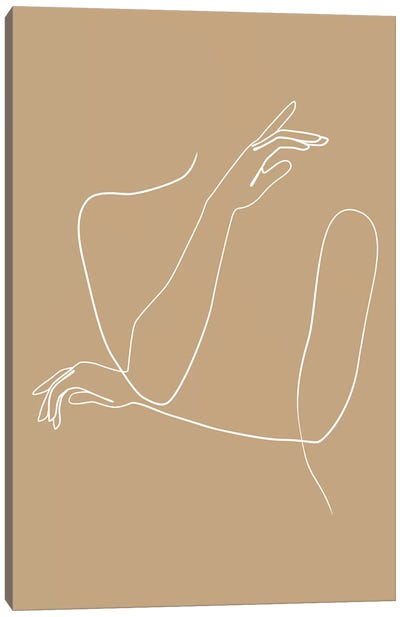 Femme №41 Rectangle Canvas Art Print