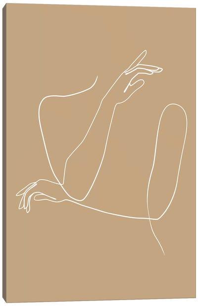 Femme №41 Rectangle Canvas Art Print