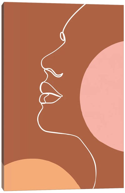 Femme №44 Rectangle Canvas Art Print
