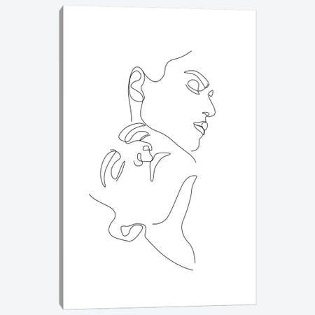Love №2 Rectangle Canvas Print #BLP120} by Blek Prints Canvas Print