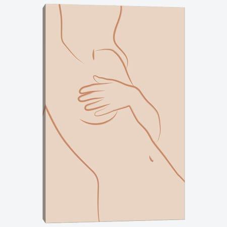 Feminine Neutral Canvas Print #BLP173} by Blek Prints Canvas Artwork