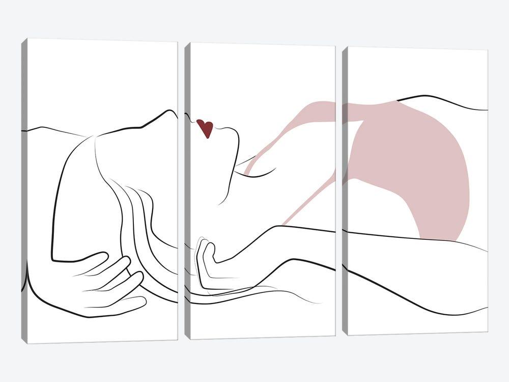 Morning Feelings by Blek Prints 3-piece Canvas Art