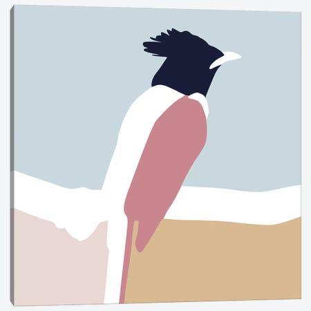 Bird Square Canvas Print #BLP18} by Blek Prints Canvas Wall Art