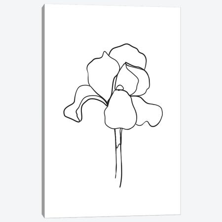 Botanical №5 Rectangle 3-Piece Canvas #BLP23} by Blek Prints Canvas Art Print
