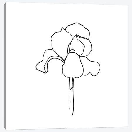 Botanical №5 Square Canvas Print #BLP24} by Blek Prints Canvas Wall Art