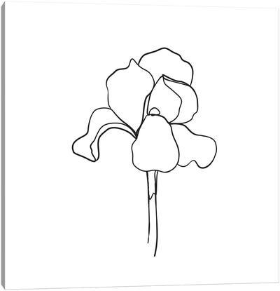 Botanical №5 Square Canvas Art Print