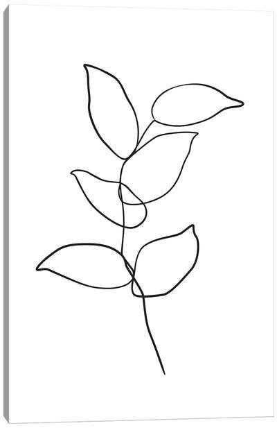 Botanical №6 Rectangle Canvas Art Print