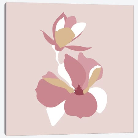 Botanical №8 Square 3-Piece Canvas #BLP28} by Blek Prints Art Print