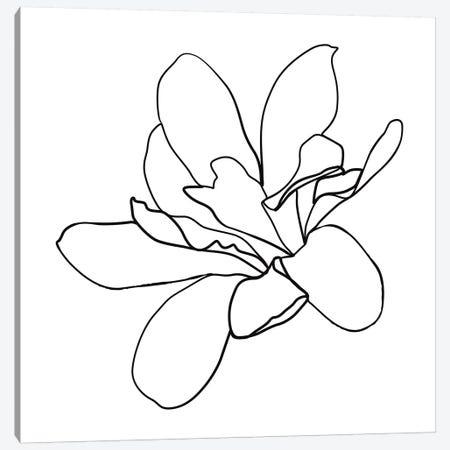 Botanical №10 Square 3-Piece Canvas #BLP30} by Blek Prints Canvas Artwork
