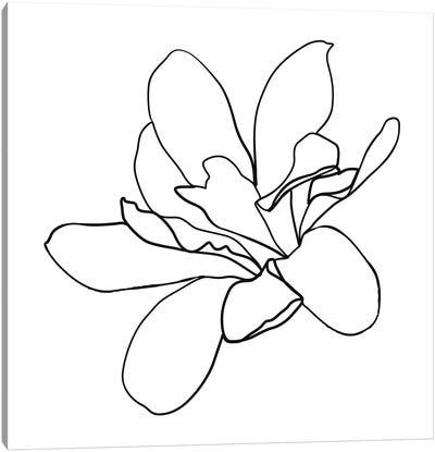 Botanical №10 Square Canvas Art Print
