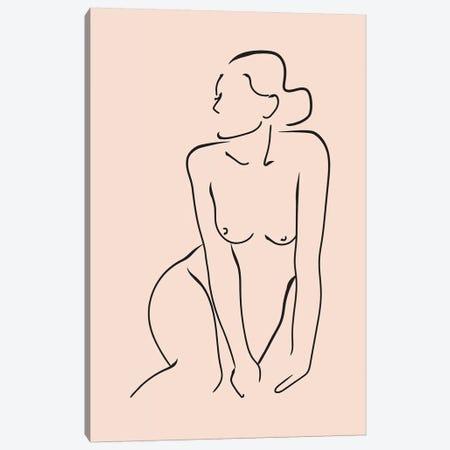 Femme №2 Rectangle Canvas Print #BLP37} by Blek Prints Canvas Print
