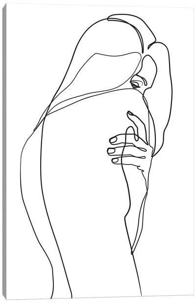 Femme №4 Rectangle Canvas Art Print
