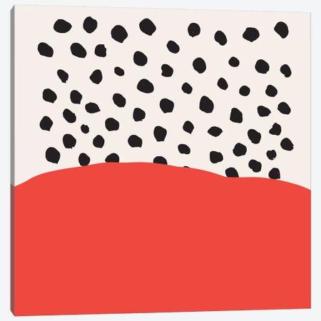 Abstract №2 Square Canvas Print #BLP4} by Blek Prints Canvas Artwork