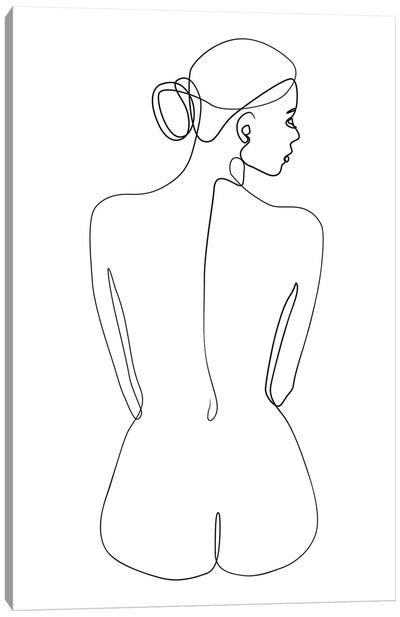 Femme №14 Rectangle Canvas Art Print