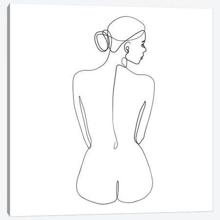 Femme №14 Square 3-Piece Canvas #BLP54} by Blek Prints Art Print