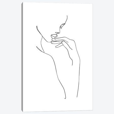 Femme №18 Rectangle 3-Piece Canvas #BLP60} by Blek Prints Canvas Print