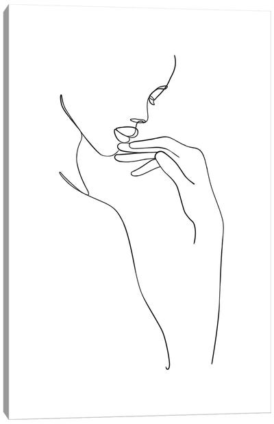 Femme №18 Rectangle Canvas Art Print