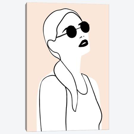 Femme №26 Rectangle Canvas Print #BLP76} by Blek Prints Art Print
