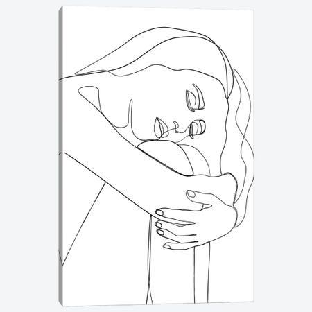 Femme №34 Rectangle 3-Piece Canvas #BLP92} by Blek Prints Canvas Artwork