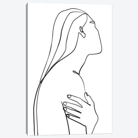 Femme №36 Rectangle Canvas Print #BLP96} by Blek Prints Canvas Print