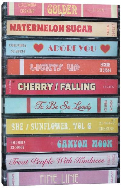 Harry Styles - Fine Line As Cassettes Canvas Art Print