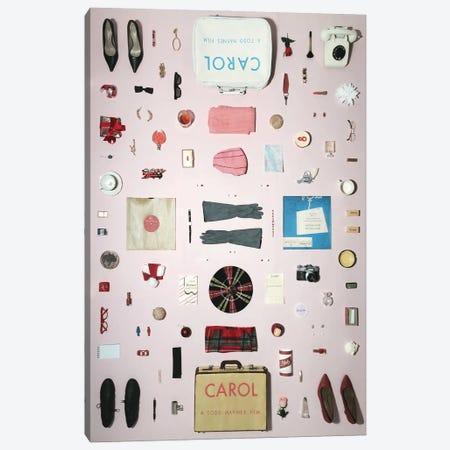 Carol (2015) Objects Canvas Print #BLT31} by Jordan Bolton Canvas Artwork