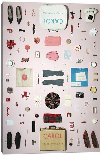Carol (2015) Objects Canvas Art Print