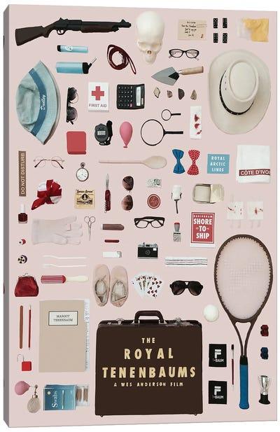 The Royal Tenenbaums Objects Poster Canvas Art Print