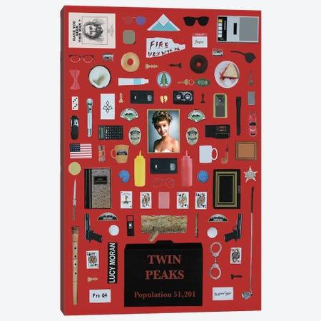 Twin Peaks Objects Canvas Print #BLT56} by Jordan Bolton Canvas Print