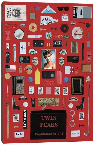 Twin Peaks Objects Canvas Art Print
