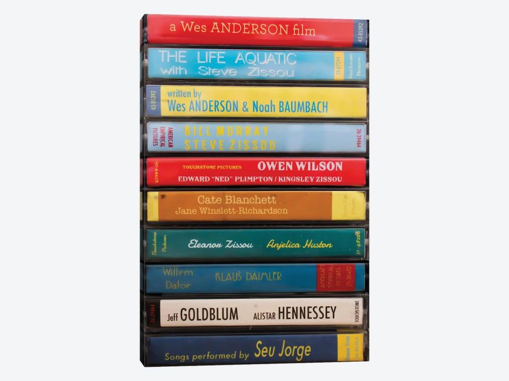 The Life Aquatic With Steve Zissou As Cassettes by Jordan Bolton 1-piece Canvas Art