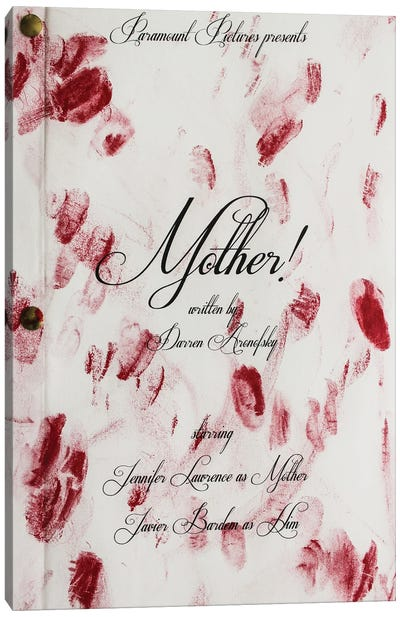 Mother (2015) Canvas Art Print