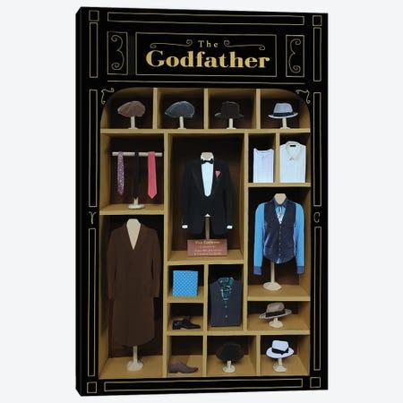 The Godfather Costumes 3-Piece Canvas #BLT69} by Jordan Bolton Canvas Print