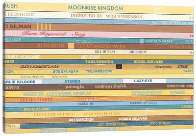 Moonrise Kingdom As Vinyls Canvas Art Print