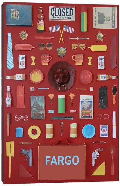Objects Of Fargo Canvas Art Print