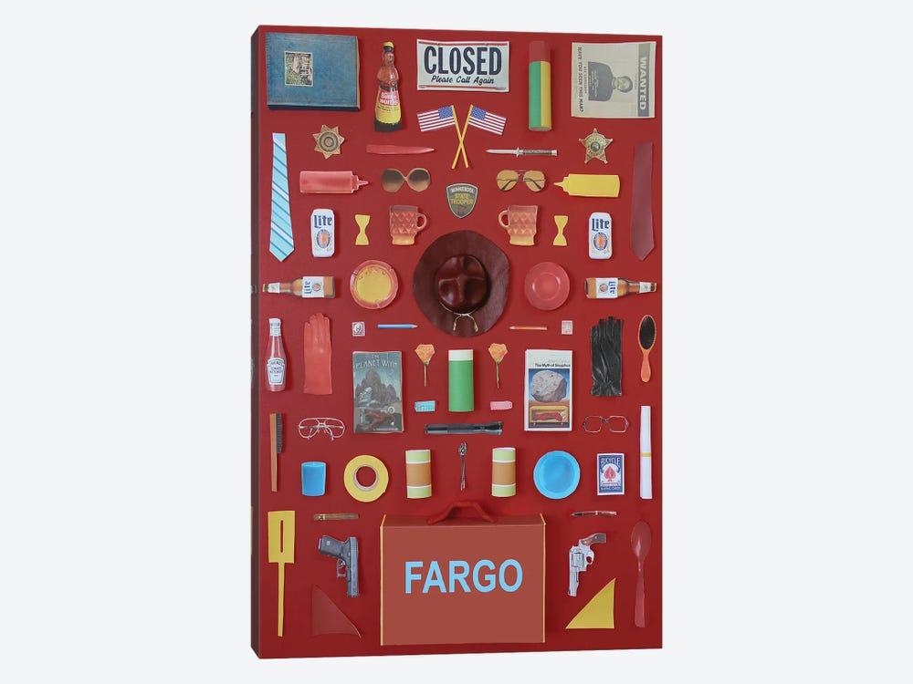 Objects Of Fargo by Jordan Bolton 1-piece Art Print