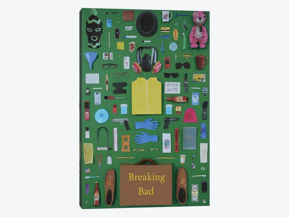 Objects Of Breaking Bad by Jordan Bolton 1-piece Art Print