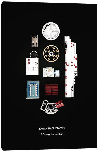 Rooms Of 2001: A Space Odyssey Canvas Art Print