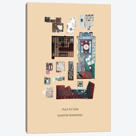 Rooms Of Pulp Fiction Canvas Print #BLT77} by Jordan Bolton Canvas Print