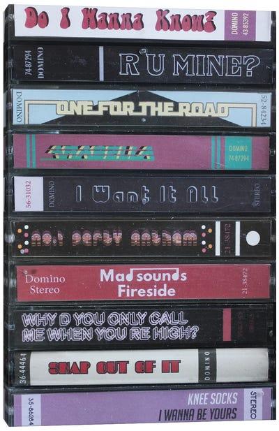 Arctic Monkeys - A.M. As Cassettes Canvas Art Print